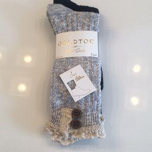 Gold Toe boot socks 🧦NWT, set of 2